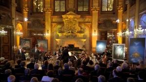 Recitace z knih V. Megreho na Vánočním koncertě z Valdštejnského paláce 24.12.2014