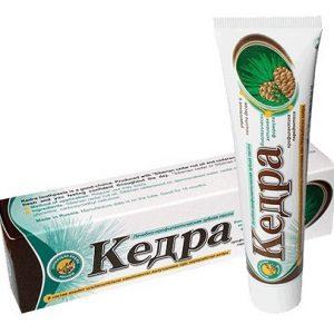 Zubní pasta Kedra s cedrovým olejem a propolisem
