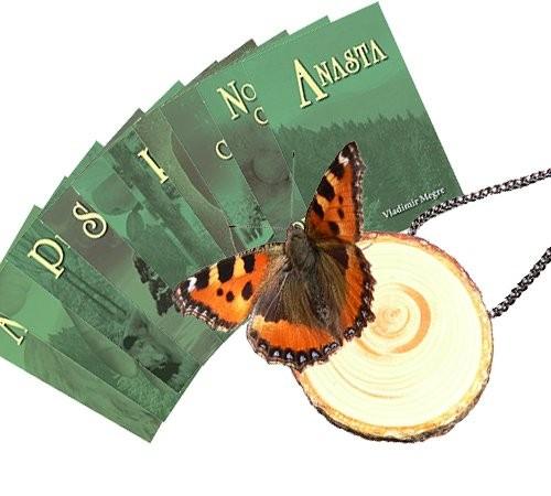 Kompletní série knih Anastasia + dárek
